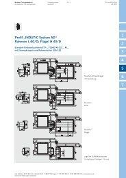 """Profil """"INOUTIC System AD"""" Rahmen L 60/D; Flügel H 40/D"""