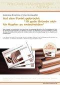 wieland-haustechnik + + + + + + news - cuprotherm - Seite 7