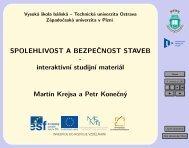 Spolehlivost a bezpečnost staveb - Matematika pro inženýry 21 ...