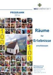 Download Programm 2013 - Schönstatt Bewegung Schweiz