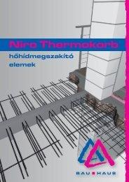 Hőhídmegszakító elemek (pdf - 6,9 MB) - Bau-Haus Kft.