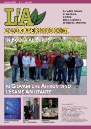 L'Agrotecnico Oggi novembre 09 - Collegio Nazionale degli ...