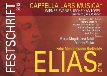 Programm - Cappella Ars Musica