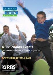 RBS Schools Events