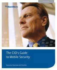 The CIO's Guide to Mobile Security