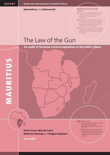 Mauritius - Saferworld