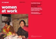 women at work - Trade Aid