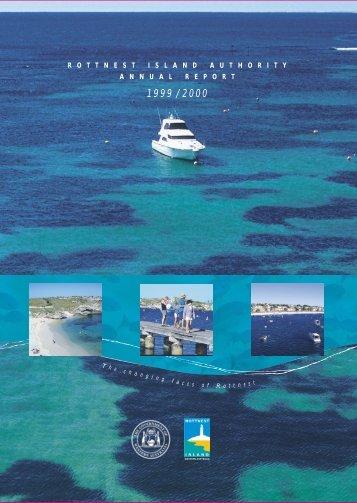 Annual Report 2000-2001 - Rottnest Island