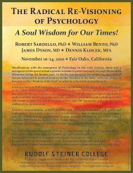 The Radical Re-Visioning of Psychology A Soul Wisdom for Our ...