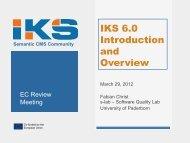 IKS Stack 6.0 Release