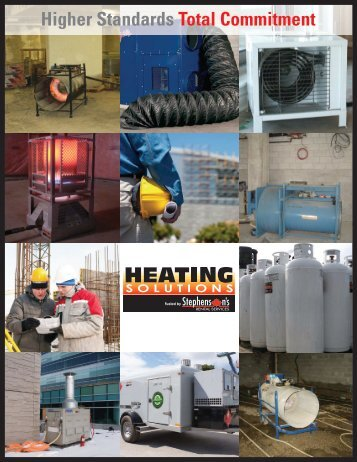 Stephenson's Heating Solutions - Stephenson's Rental Services