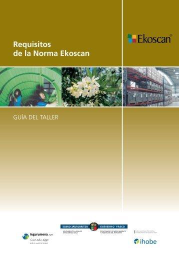 Requisitos de la Norma Ekoscan - Ihobe