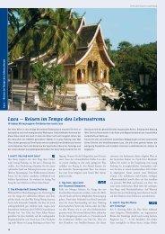 Laos – Reisen im Tempo des Lebensstroms