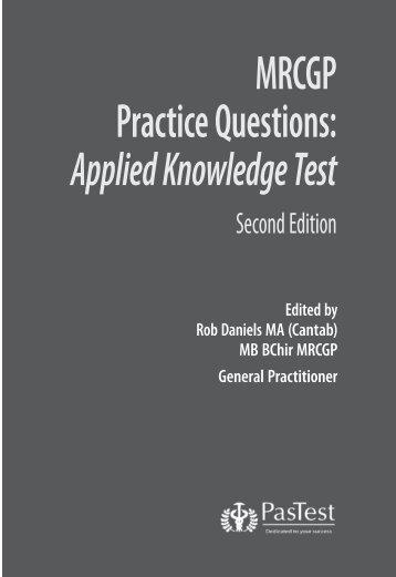 MRCGP Practice Questions: Applied Knowledge Test - PasTest