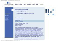 Diplomstudiengang Sommersemester 2004 - Buchwissenschaft
