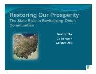 The State Role in Revitalizing Ohio's Communities - Hamilton ...