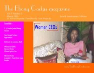 March 2006 - The Ebony Cactus