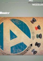 rotores difusores válvulas programadores ... - Hunter Industries