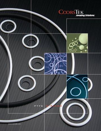 PTFE O-Rings Catalog - CoorsTek
