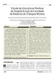 Estudo de Uroculturas Positivas do Hospital Escola da ... - NewsLab