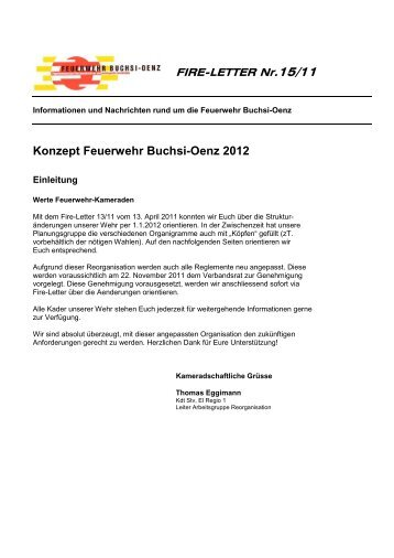 Konzept Feuerwehr Buchsi-Oenz 2012