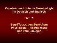 Teil 7 - Veterinärmedizinische Universität Wien