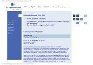 Buchwissenschaft München - Seminare: Aufbaustudiengang ...