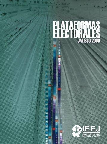 Plataformas Electorales.pdf - Instituto Electoral y de Participación ...