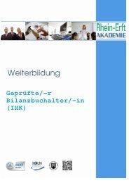 Broschüre BiBu 2013 - Rhein-Erft-Akademie