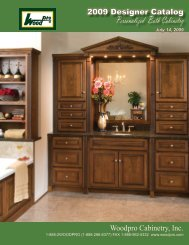 Personalized Bath Cabinetry