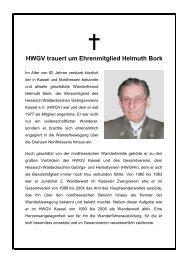 Nachruf_Helmuth Bork - Hessisch- Waldeckischer Gebirgs