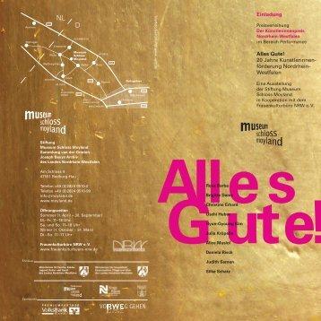 Einladung Alles Gute (pdf) - Frauenkulturbüro NRW