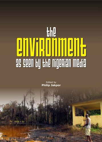 Media Environment Book Inner - Environmental Rights Action
