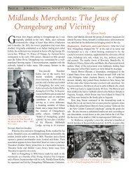 Midlands Merchants: The Jews of Orangeburg and Vicinity - Jewish ...