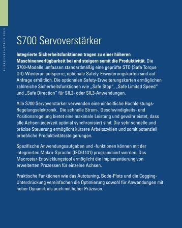 Katalog für Kollmorgen Servosysteme - AHS Antriebstechnik