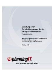Schaffung einer Entscheidungsbasis für das Enterprise Architecture ...