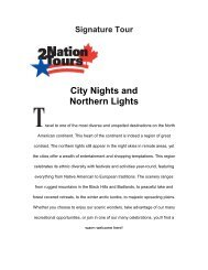 Signature Tour City Nights and Northern Lights - North Dakota Tourism
