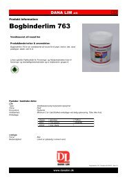 Bogbinderlim 763 - Dana Lim A/S