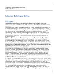 I dizionari della lingua italiana (pdf) - TERM-minator