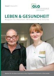 umwelt- und sozialbericht - GLG mbH - Gesellschaft für Leben und ...
