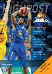 cOmPANY cUP 2013 - Fraport Skyliners