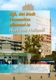 Regiobrochure Hoek van Holland - Stichting Humanitas