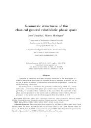 Geometric structures of the classical general relativistic phase space