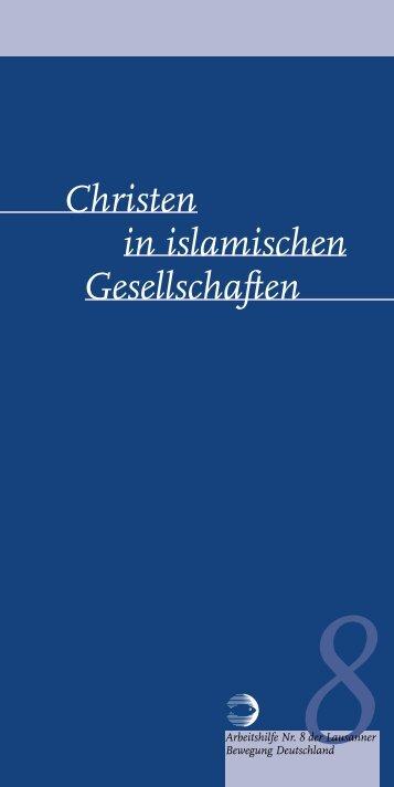"""Christine Schirrmacher """"Christen in islamischen Gesellschaften"""""""