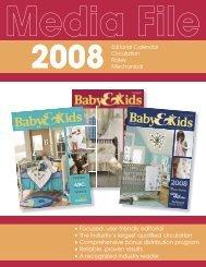 2008 MediaKit REV baby.indd - Baby & Kids Magazine