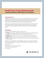 100-9100 UHC ID card facts 1 10 - UnitedHealthcareOnline.com