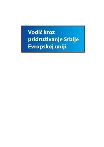 Vodič kroz pridruživanje Srbije Evropskoj uniji - ISAC Fund