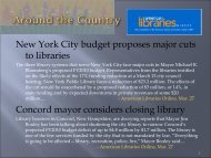 New York City budget proposes major cuts to libraries Concord ...