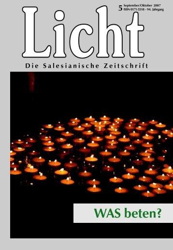 WAS beten? - Franz Sales Verlag