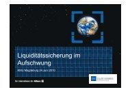 Liquiditätssicherung im Liquiditätssicherung im ... - Network KMU
